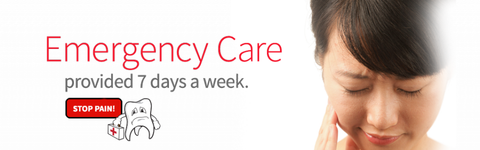 Emergency Care 7 Days a week.